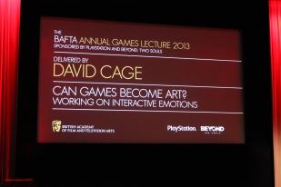 BAFTA Annual Games Lecture 2013