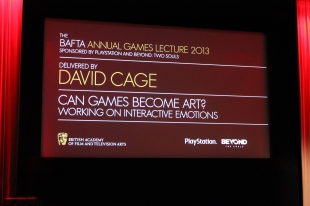BAFTA Annual Games Lecture 2013