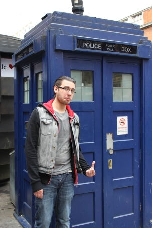 Rik and the TARDIS