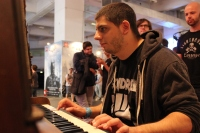 Christos at the DOOM Piano